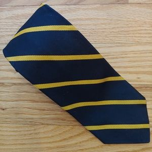 Brooks Brothers Silk Blue/Gold Tie
